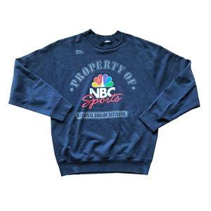 Vintage NBC Sports Crewneck Sweatshirt sz Large